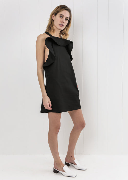 Toit Volant Monica Flare Short Dress — New Classics Studios