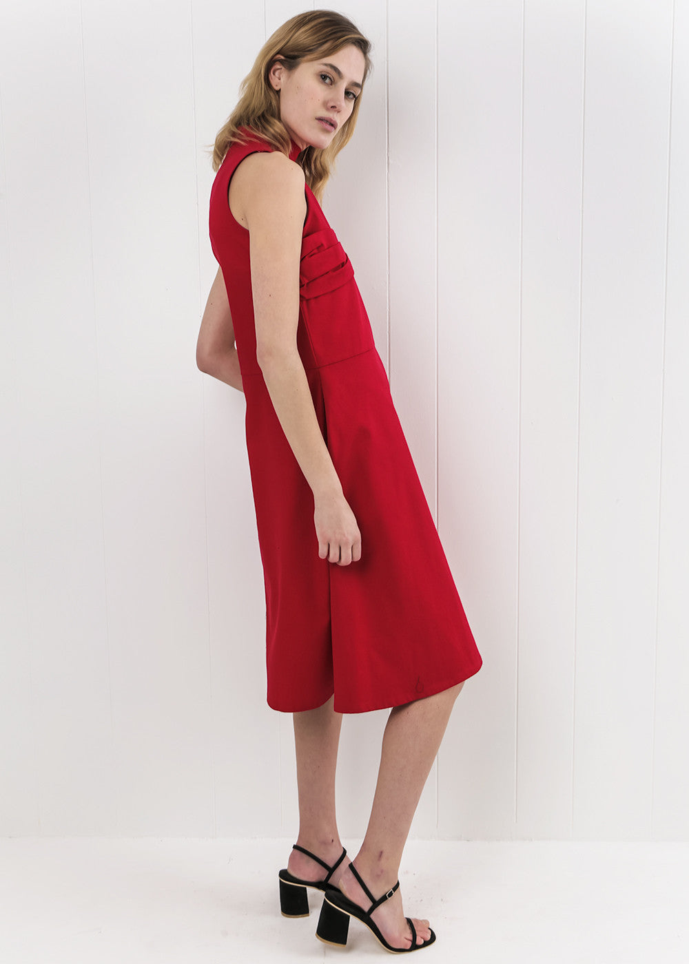 Toit Volant Red Lola II Dress — New Classics Studios