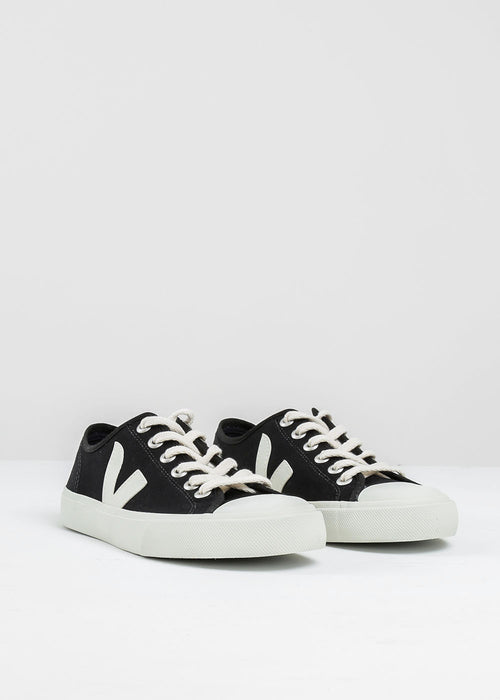 Veja Black Pierre Wata Canvas Sneaker — New Classics Studios