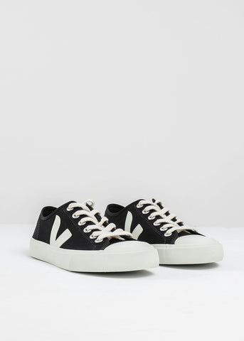 Black Pierre Wata Canvas Sneaker