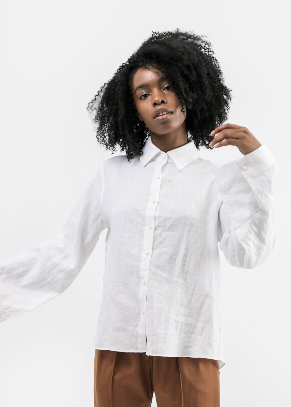Vale Denim Harbourside Shirt — Shop sustainable fashion and slow fashion at New Classics Studios