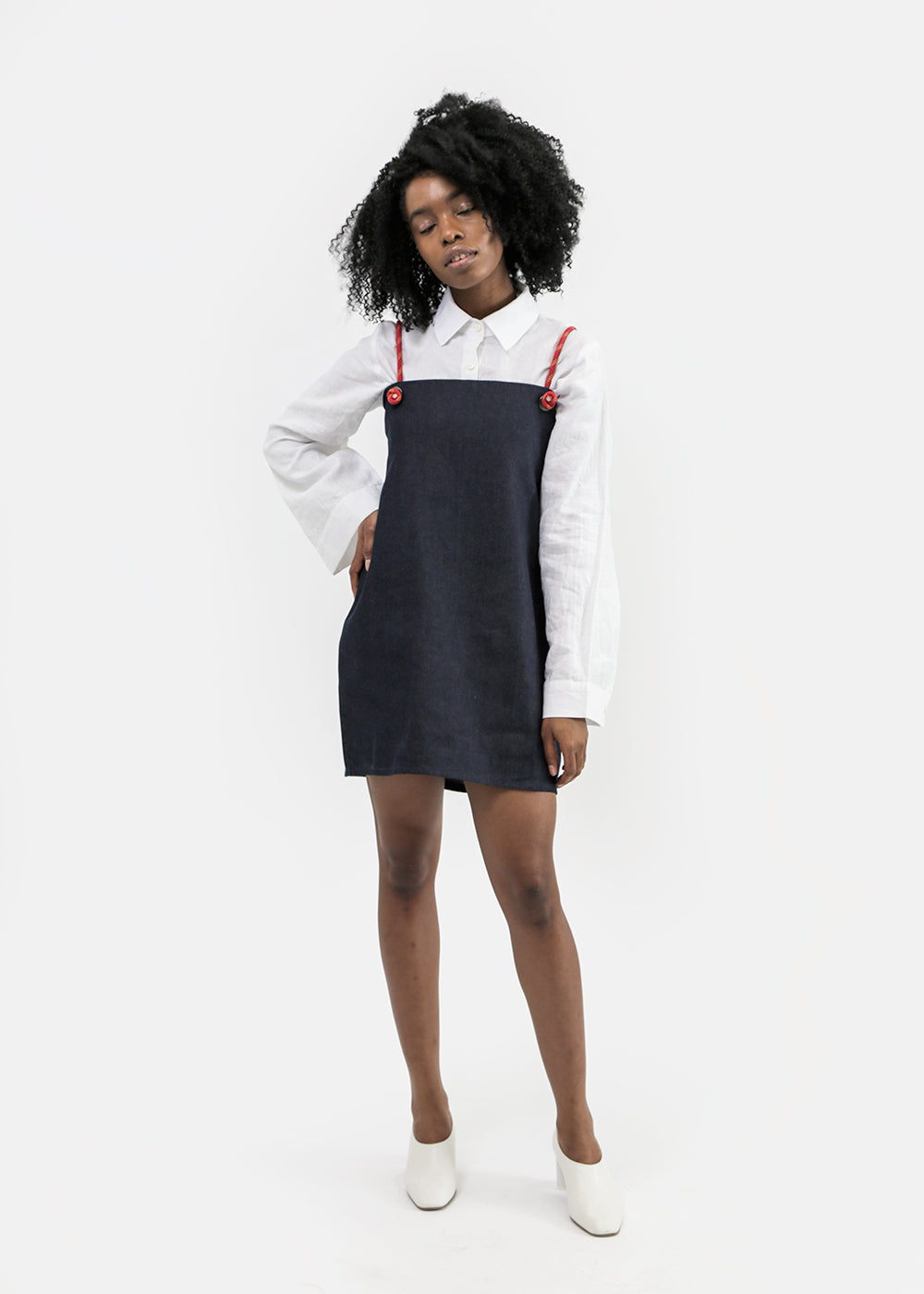 Vale Denim Rigging Dress — New Classics Studios