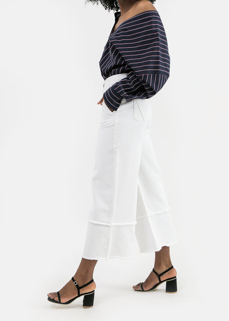 Vale Denim Cruise Culottes — Shop sustainable fashion and slow fashion at New Classics Studios