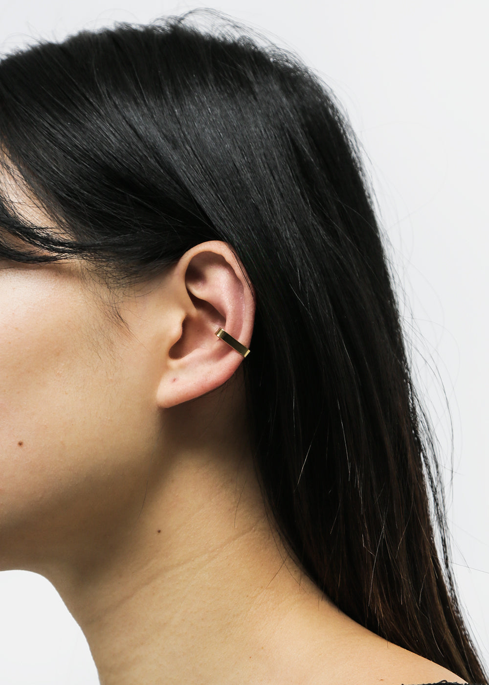 9d4ce923a Flat Ear Cuff in Gold by WOLF CIRCUS – New Classics Studios