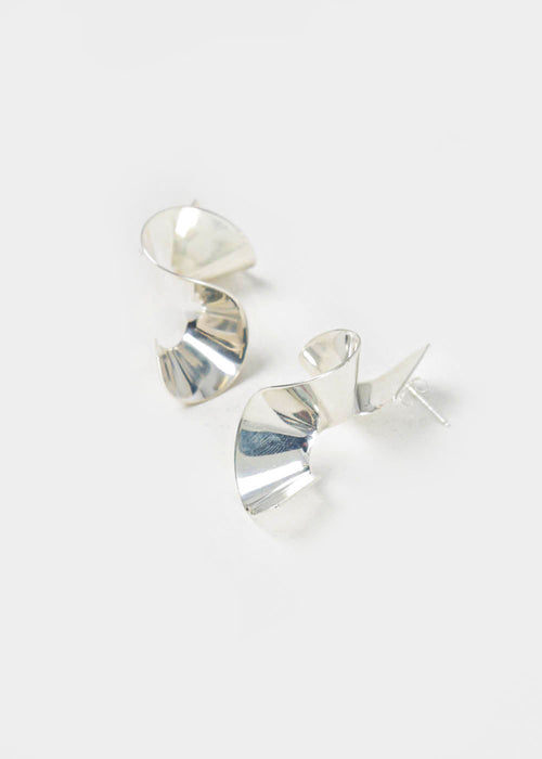 Franca Earrings in Silver