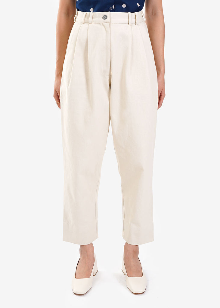 WRAY Ivory Fielding Pants — Shop sustainable fashion and slow fashion at New Classics Studios