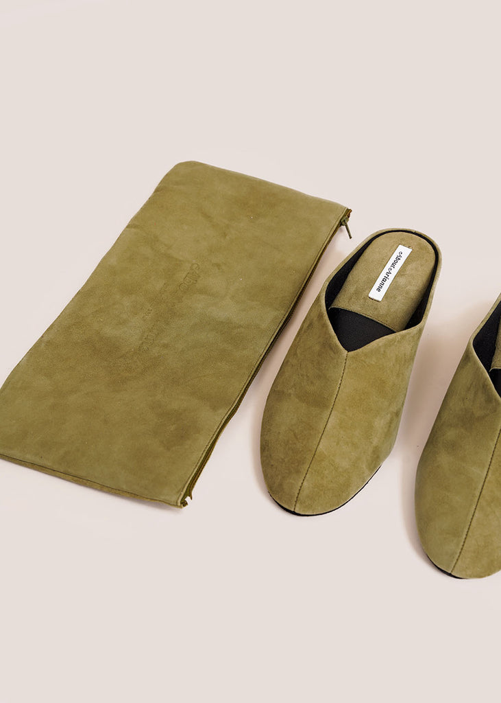 Olive Bao Slippers