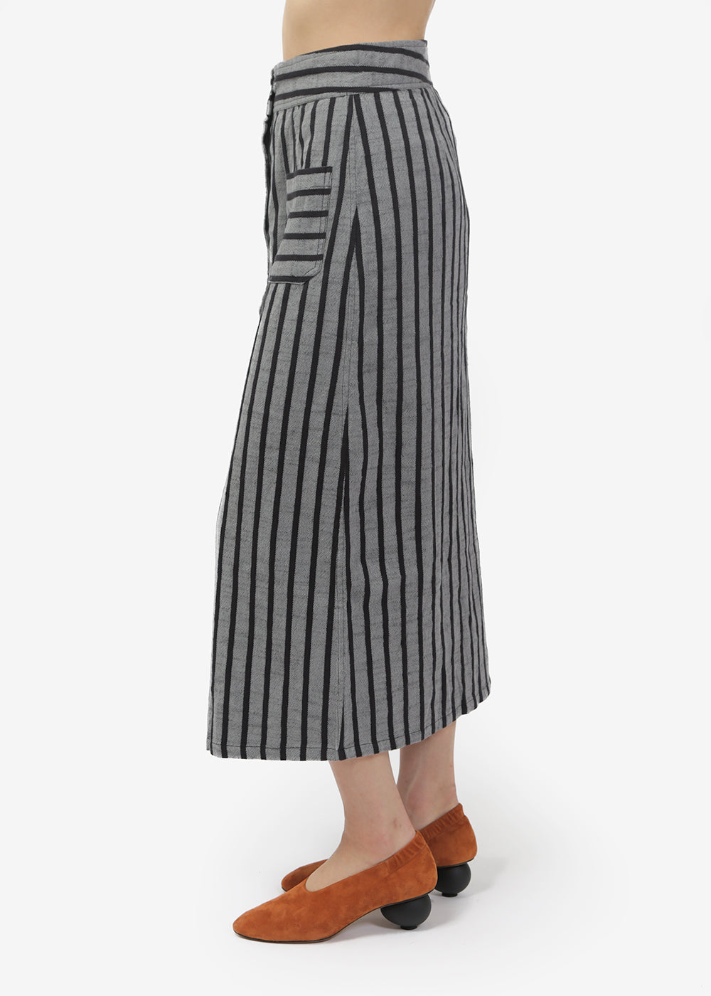Ace & Jig Concrete Bo Skirt — Shop sustainable fashion and slow fashion at New Classics Studios