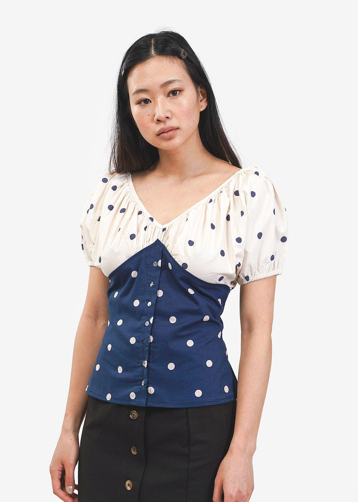 Ajaie Alaie Poetic Repetition Top — New Classics Studios