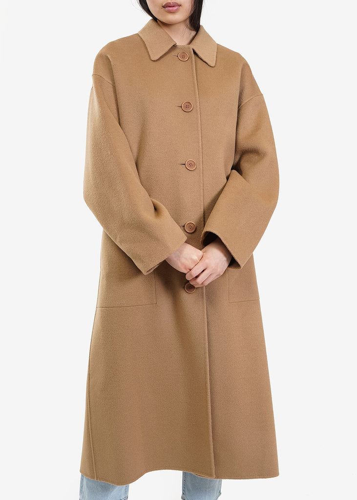AMOMENTO Handmade Long Coat — Shop sustainable fashion and slow fashion at New Classics Studios