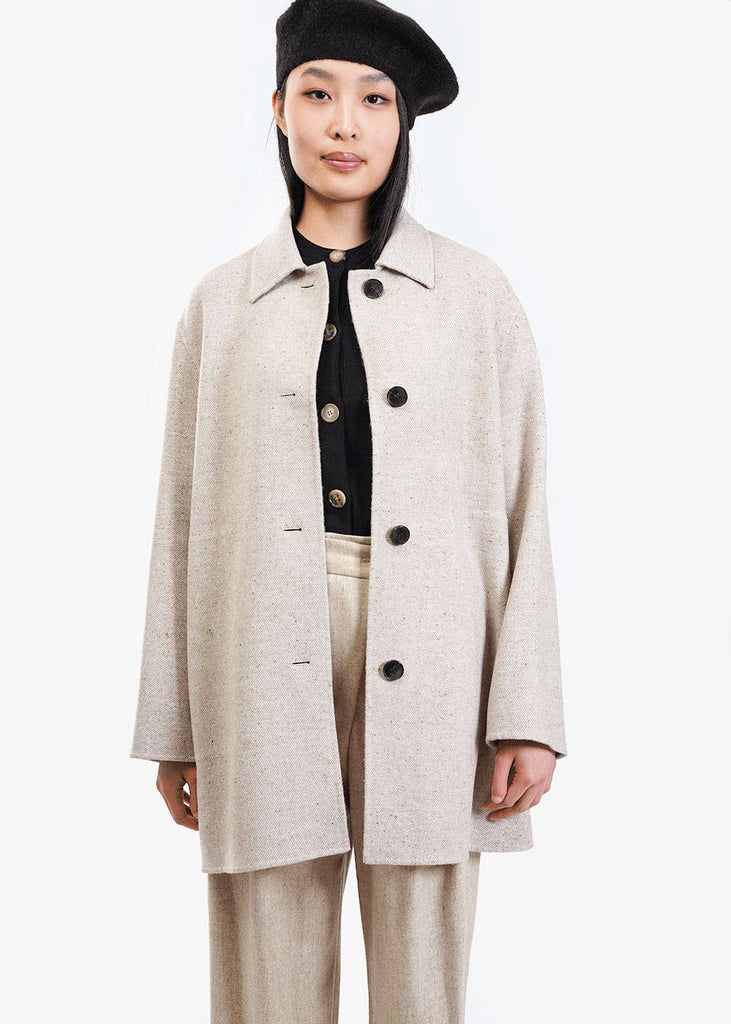 AMOMENTO Modern Handmade Coat — Shop sustainable fashion and slow fashion at New Classics Studios