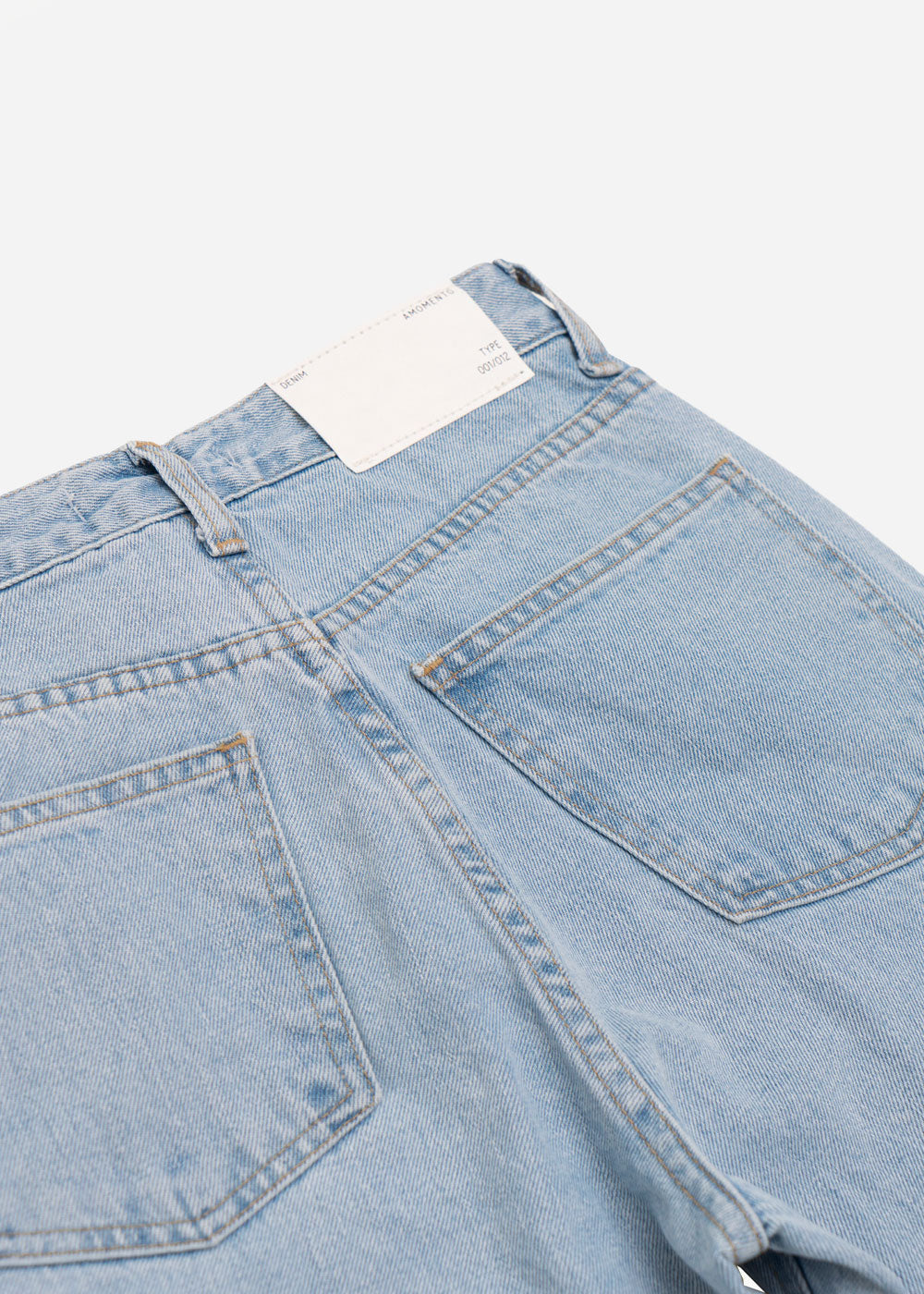AMOMENTO Regular Fit Denim Jeans — Shop sustainable fashion and slow fashion at New Classics Studios