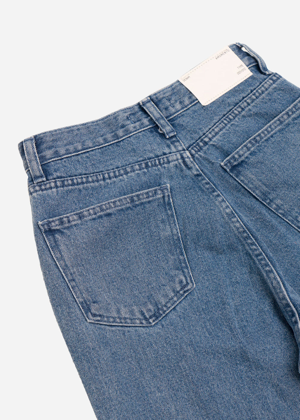 AMOMENTO Wide Fit Denim Jeans — New Classics Studios
