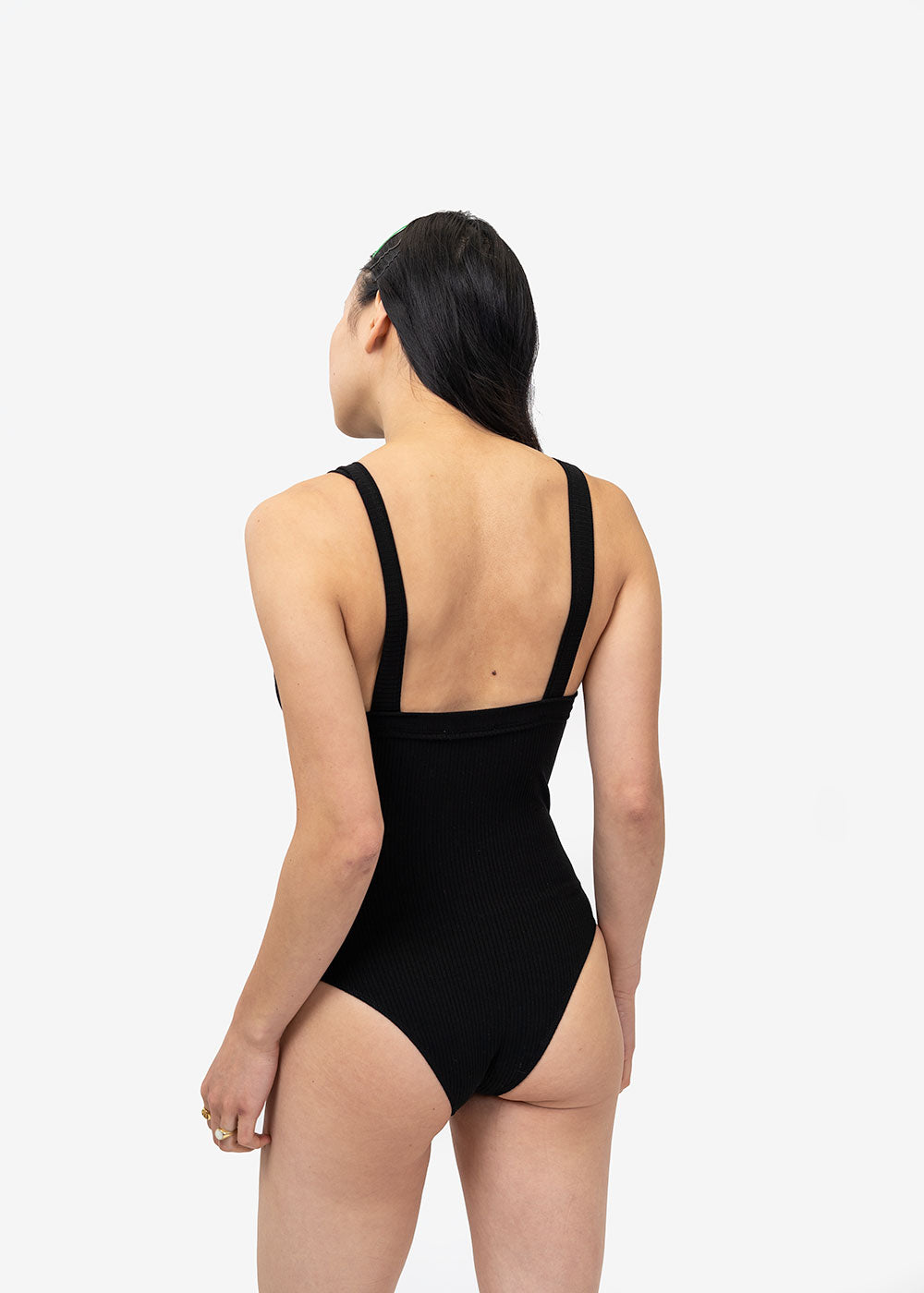 Angie Bauer Black Holland Bodysuit — Shop sustainable fashion and slow fashion at New Classics Studios