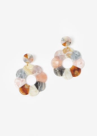 Flore Tortoise Earrings