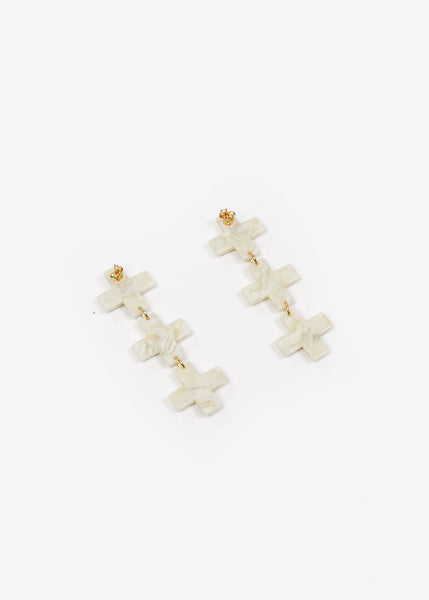 Après Ski Hana Triple Earrings — New Classics Studios