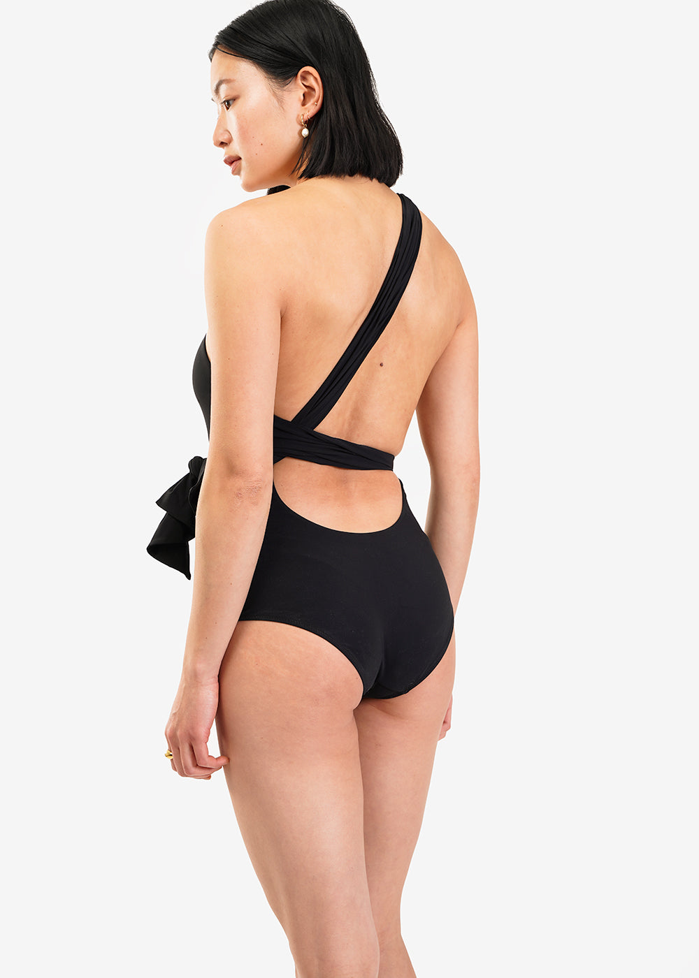 Araks Black Melika One Piece — Shop sustainable fashion and slow fashion at New Classics Studios