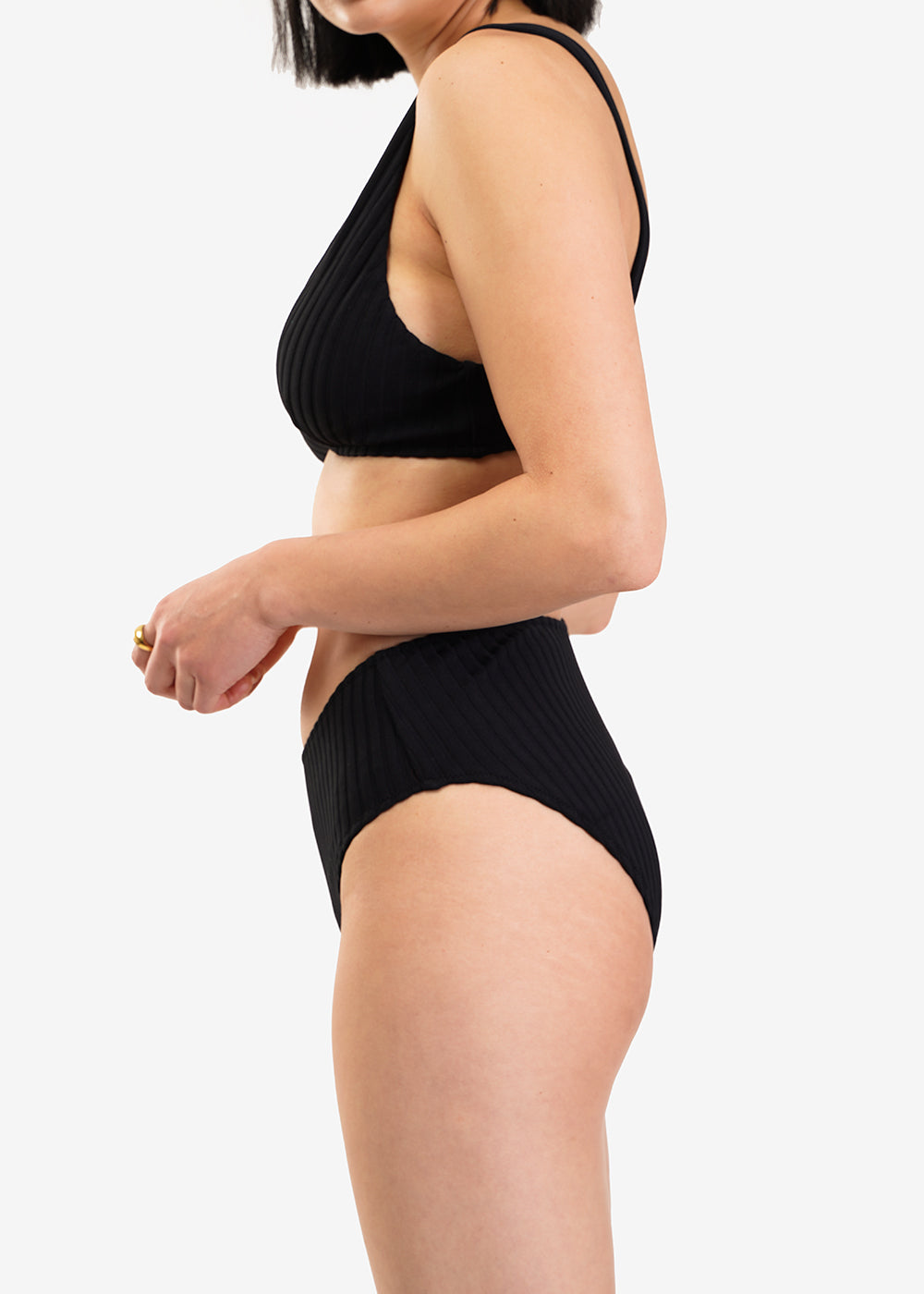Araks Black Una Bikini Top — Shop sustainable fashion and slow fashion at New Classics Studios