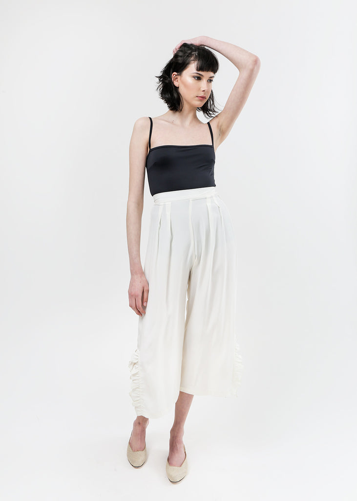Arcana NYC Parker Boudoir Trousers — Shop sustainable fashion and slow fashion at New Classics Studios