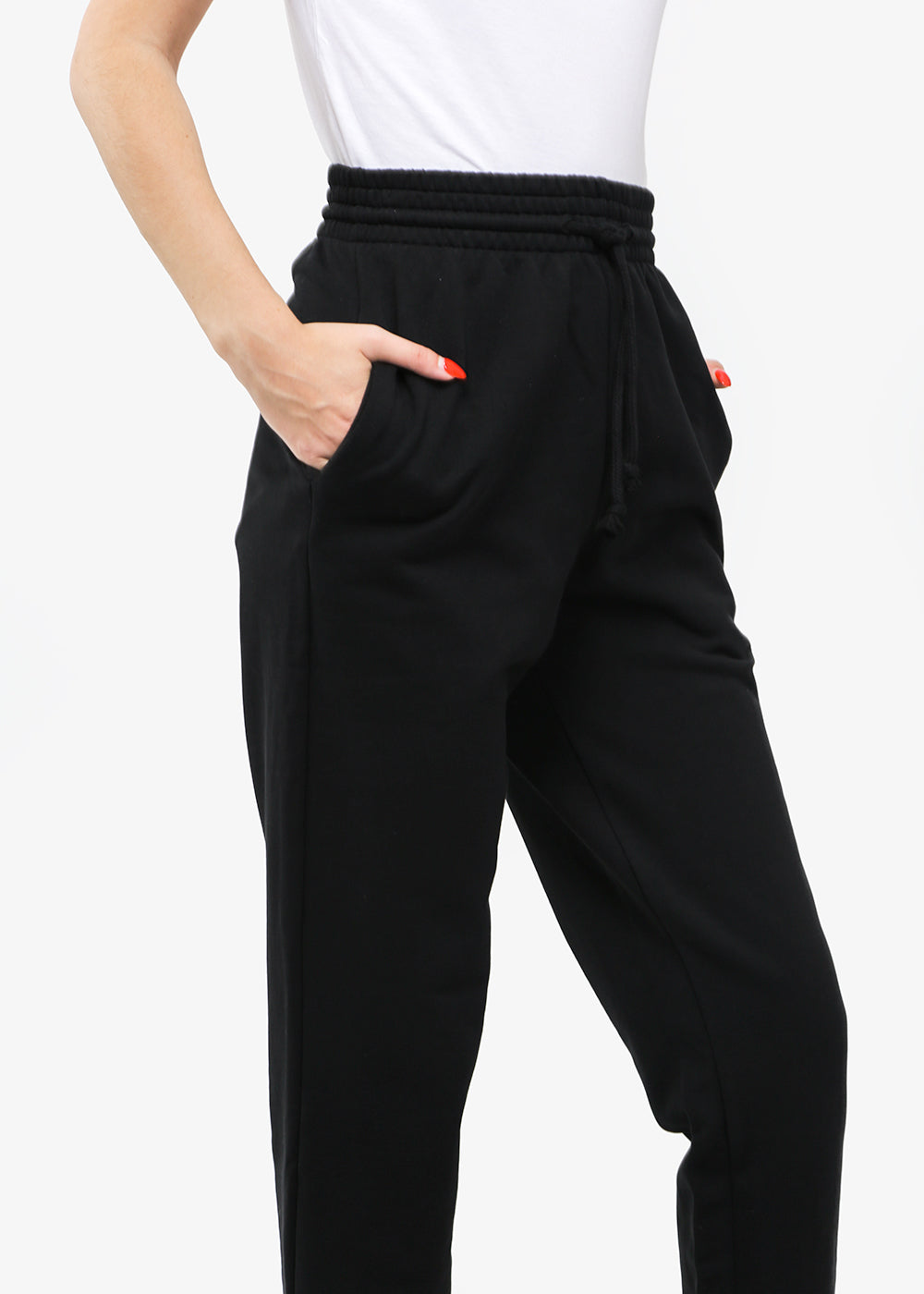 Baserange Black Sweat Pants — New Classics Studios