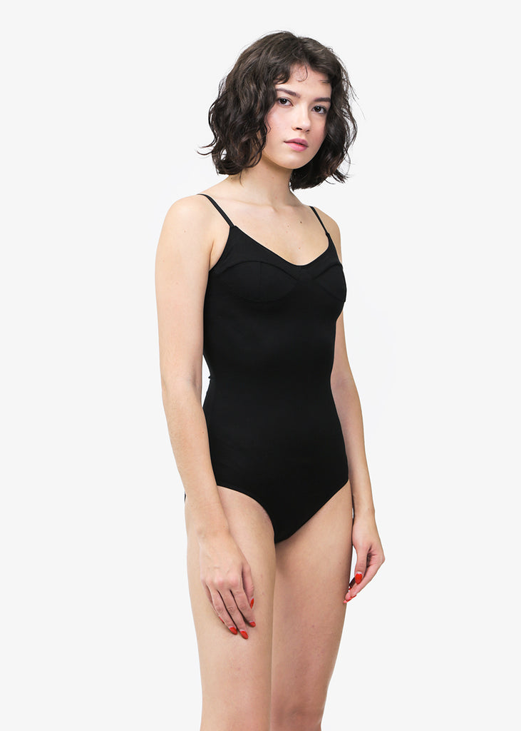 Baserange Black Body with Bra — Shop sustainable fashion and slow fashion at New Classics Studios