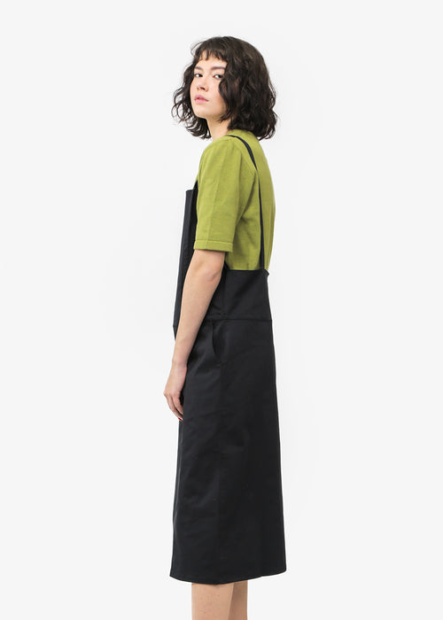 Baserange Canvas Overall Dress — New Classics Studios