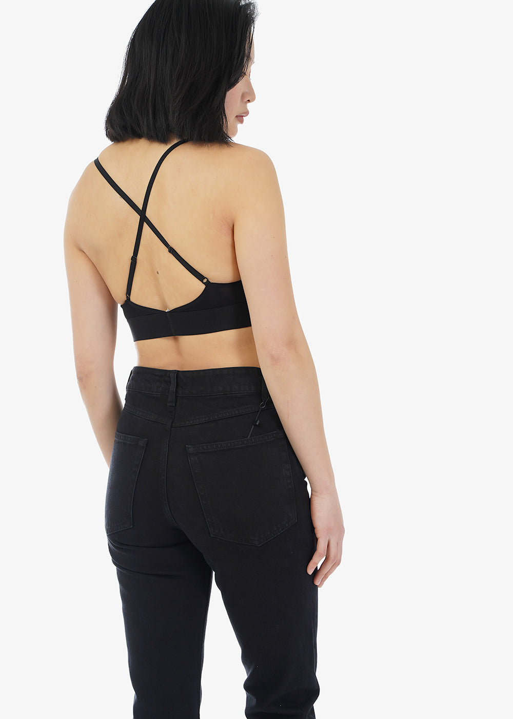 Baserange Black Lady Bra — Shop sustainable fashion and slow fashion at New Classics Studios