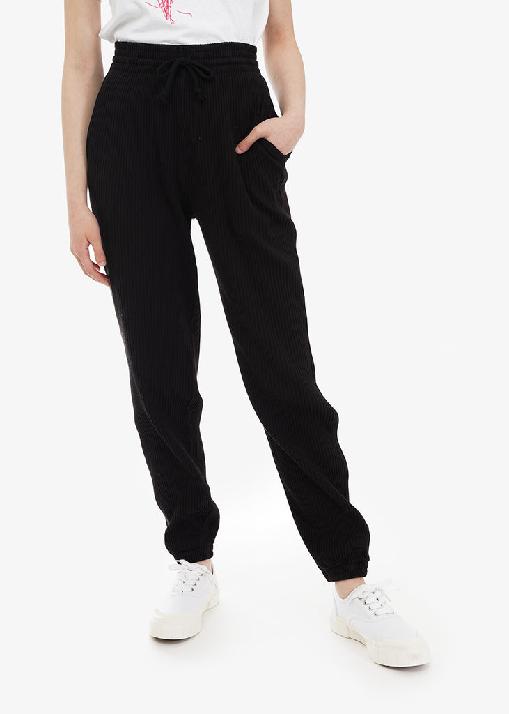 Baserange Black Sweat Pants — Shop sustainable fashion and slow fashion at New Classics Studios