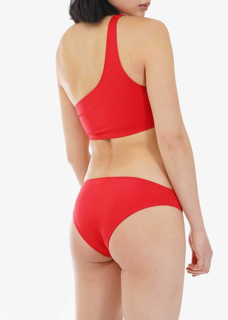 Baserange Blood Red Bell Swimpants — Shop sustainable fashion and slow fashion at New Classics Studios