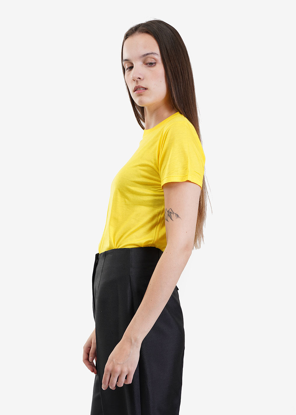 Braid Yellow Tee Shirt - New Classics Studios
