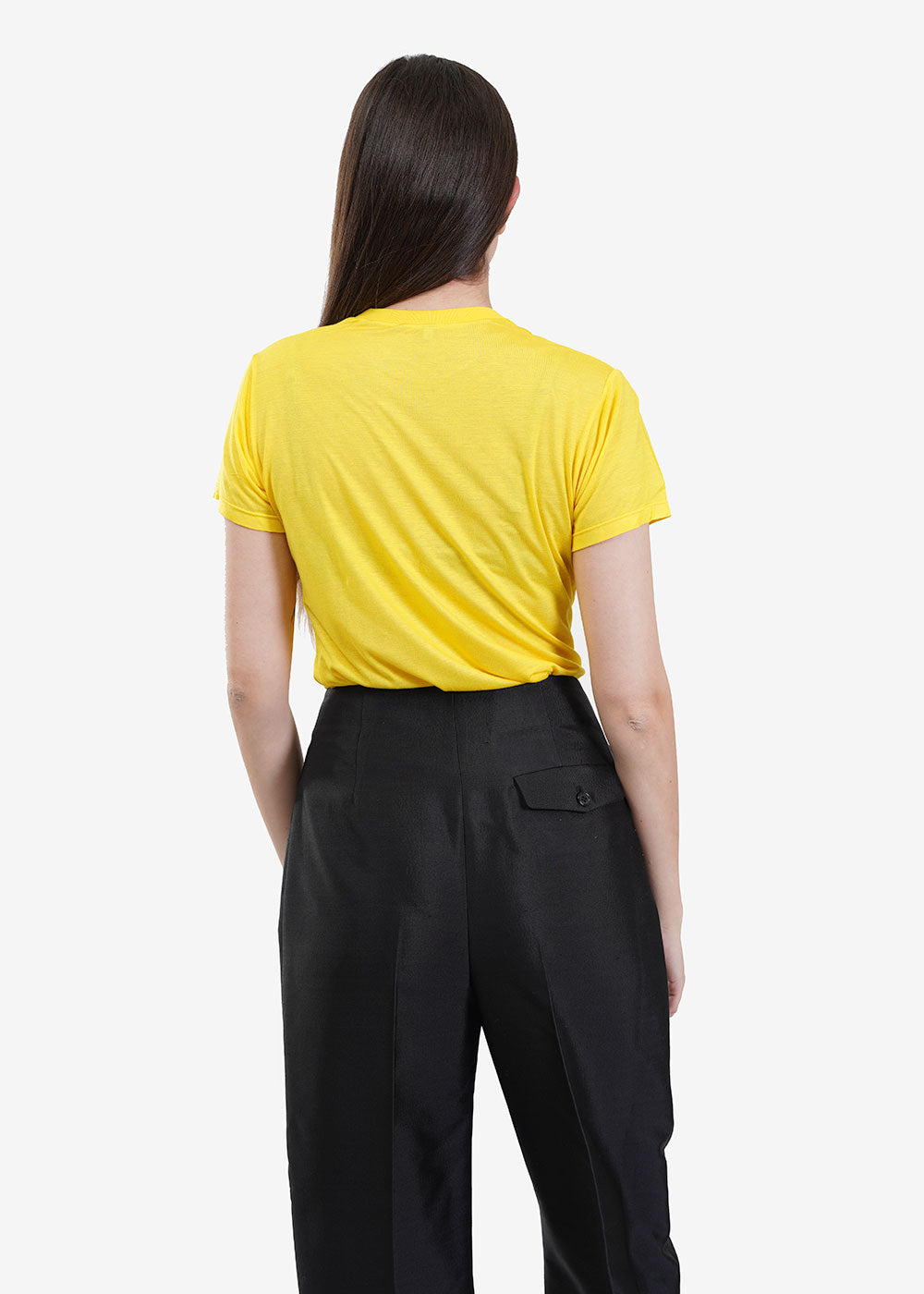Baserange Braid Yellow Tee Shirt — New Classics Studios