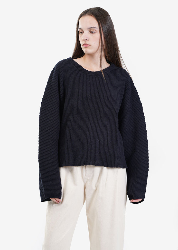 Baserange Kai Sweater — Shop sustainable fashion and slow fashion at New Classics Studios