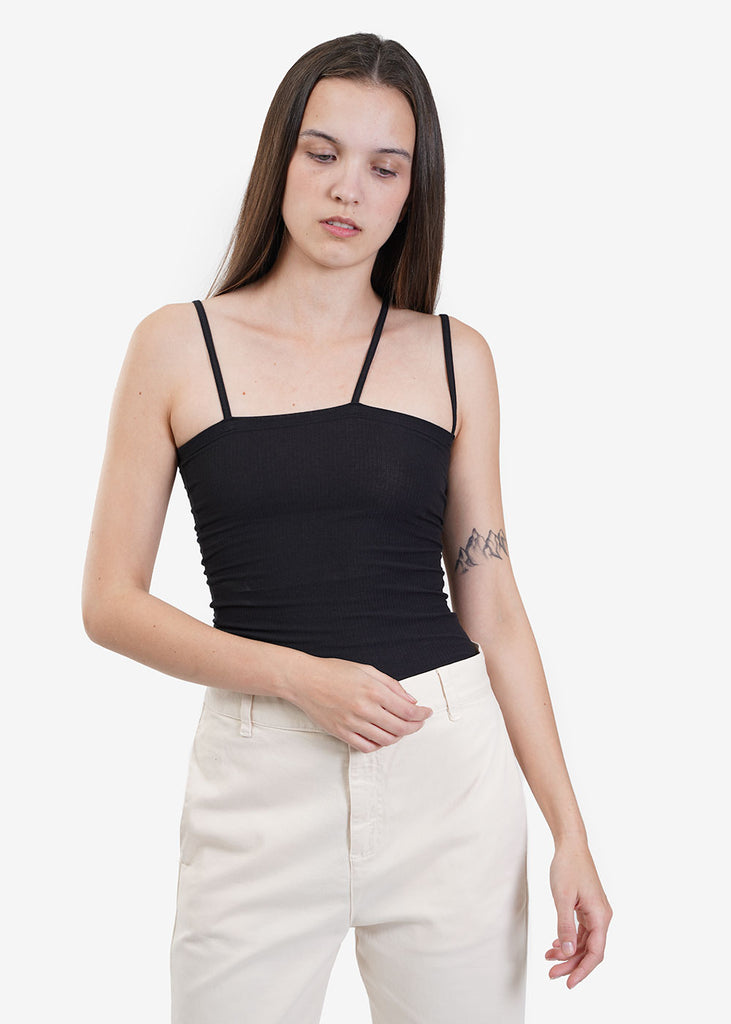 Baserange Black Nida Tank Top — Shop sustainable fashion and slow fashion at New Classics Studios