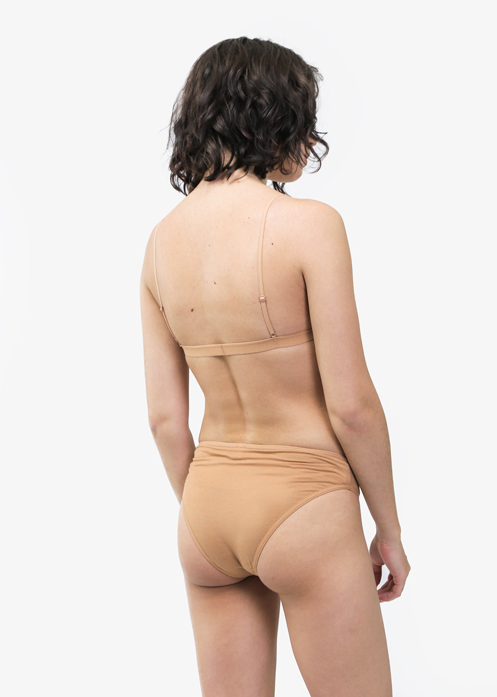 Baserange Nude Mississippi Bra — Shop sustainable fashion and slow fashion at New Classics Studios