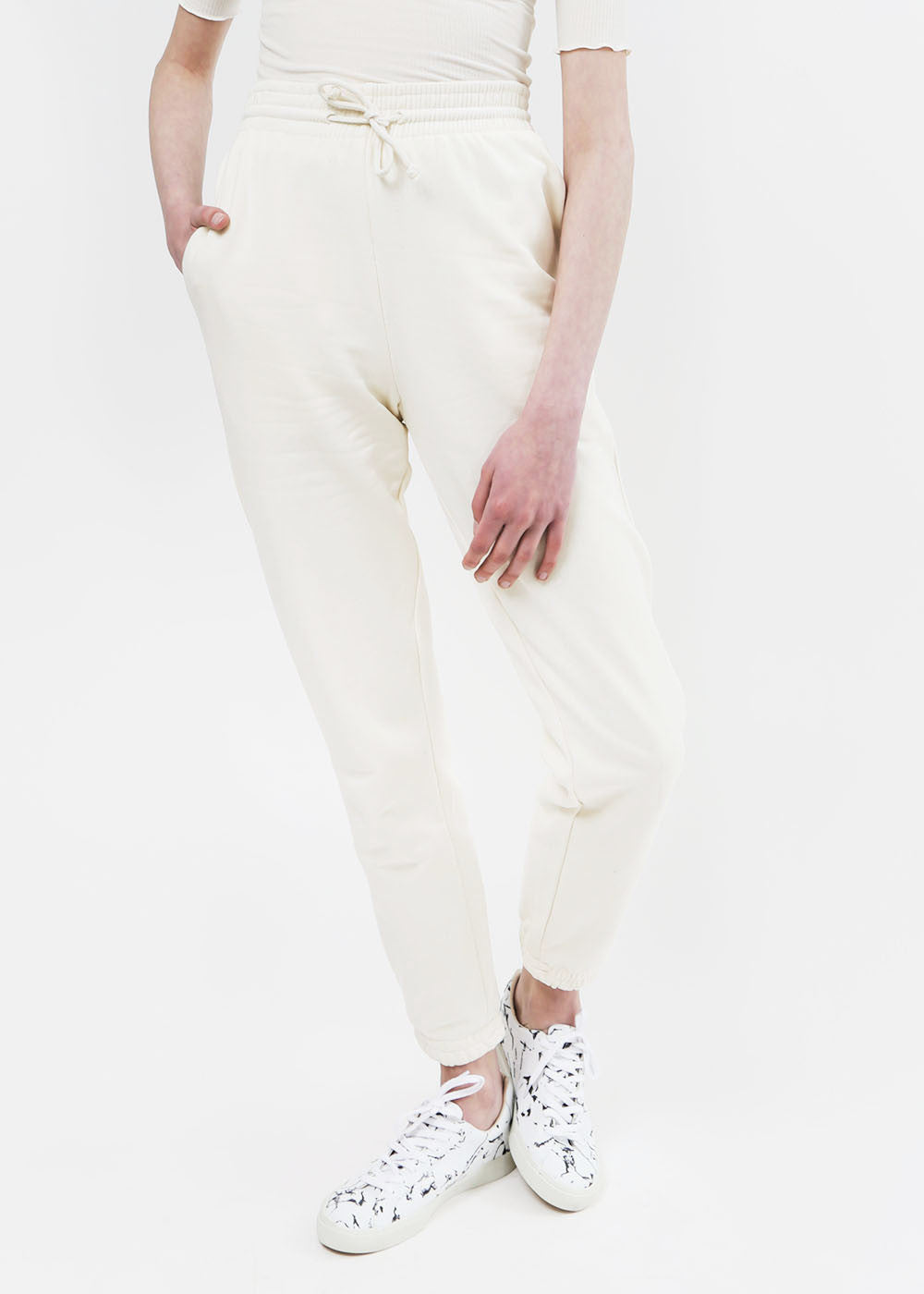 Baserange Off White Sweat Pants — New Classics Studios