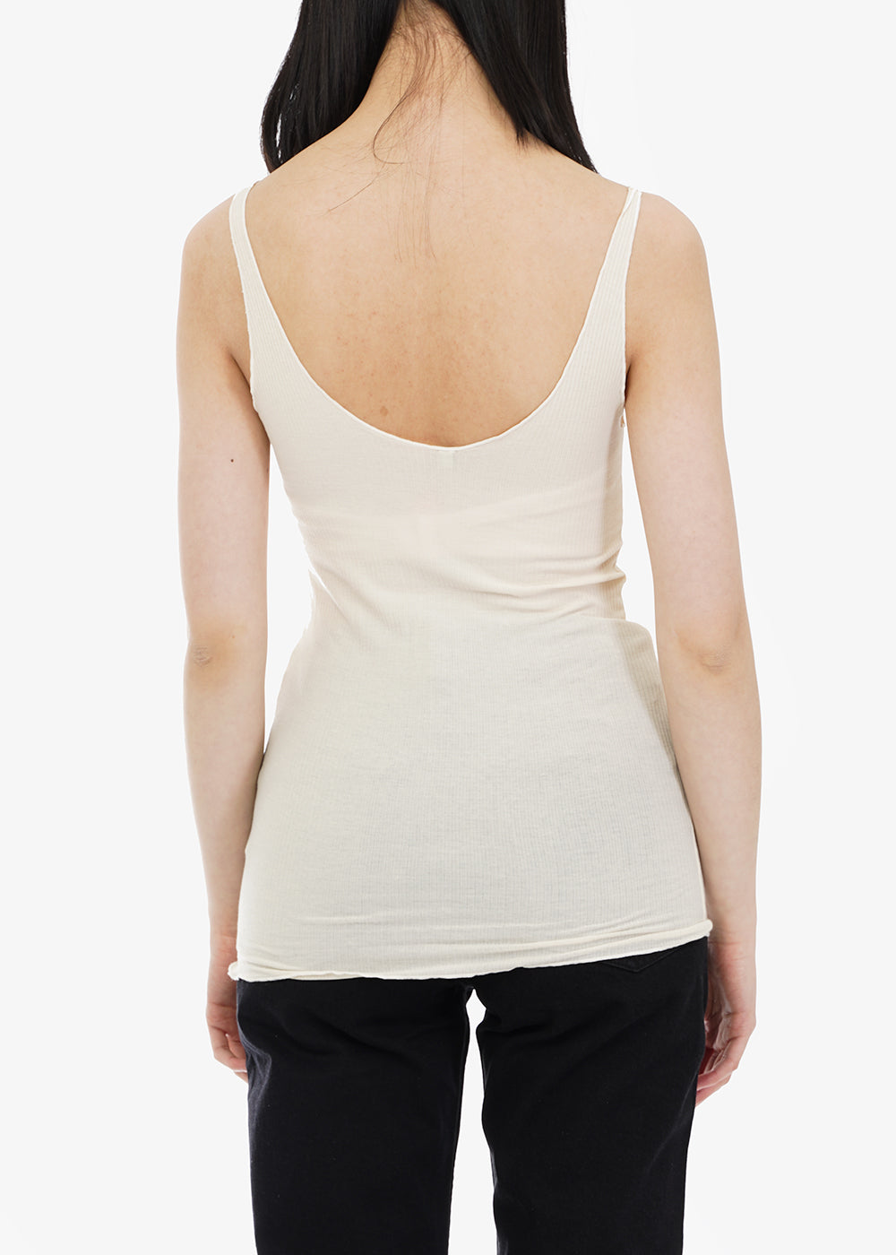 Baserange Off White Tacca Camisole — Shop sustainable fashion and slow fashion at New Classics Studios