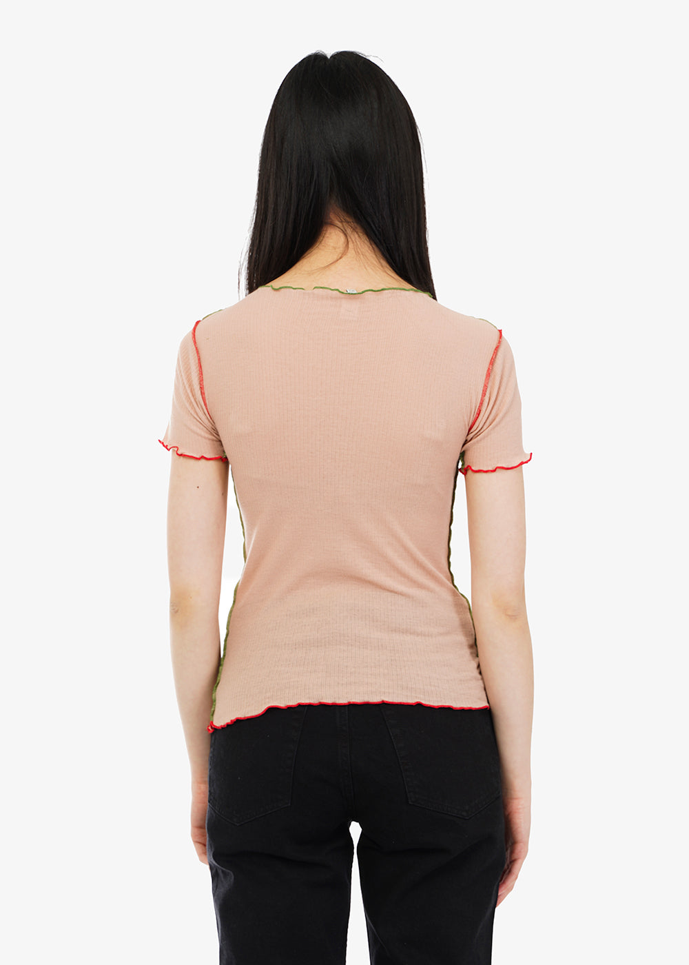 Baserange Shell Vein Tee — Shop sustainable fashion and slow fashion at New Classics Studios