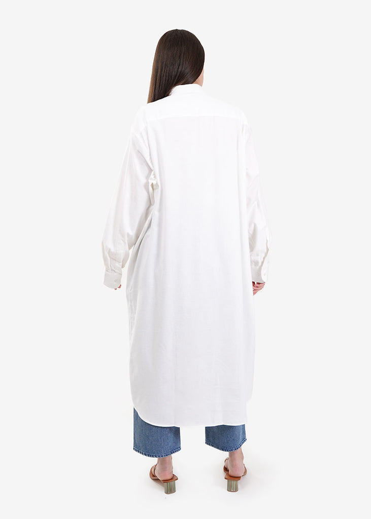 Off White Ole Shirt Dress