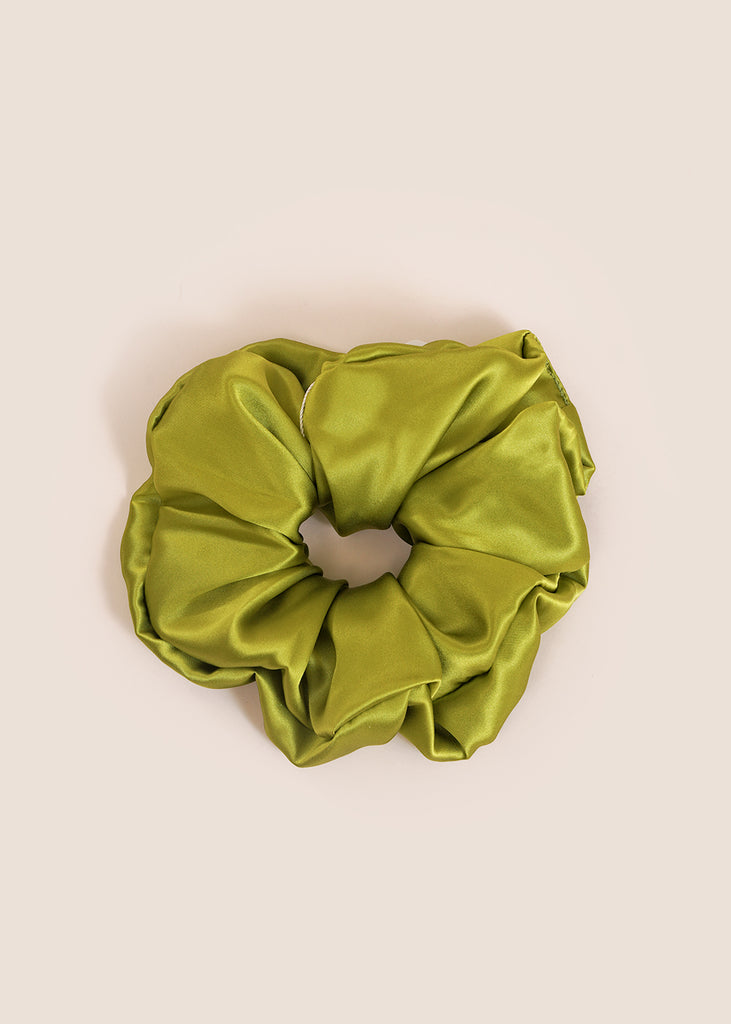 Pistachio Large Scrunchie