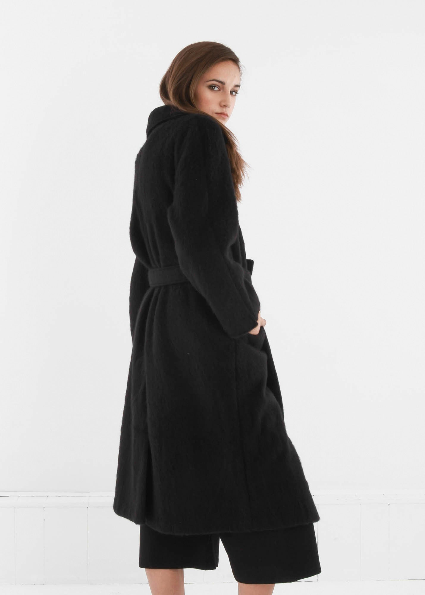 Base Range Black Pyrénées Coat - New Classics Studios  - 2