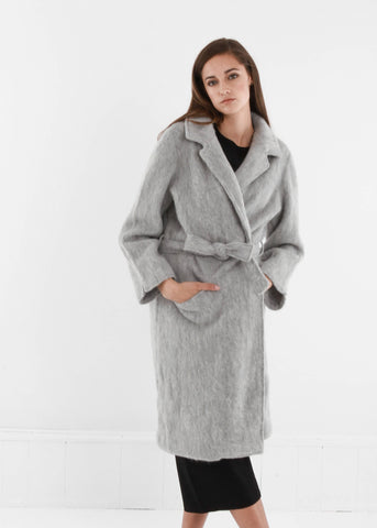 Light Grey Pyrénées Coat