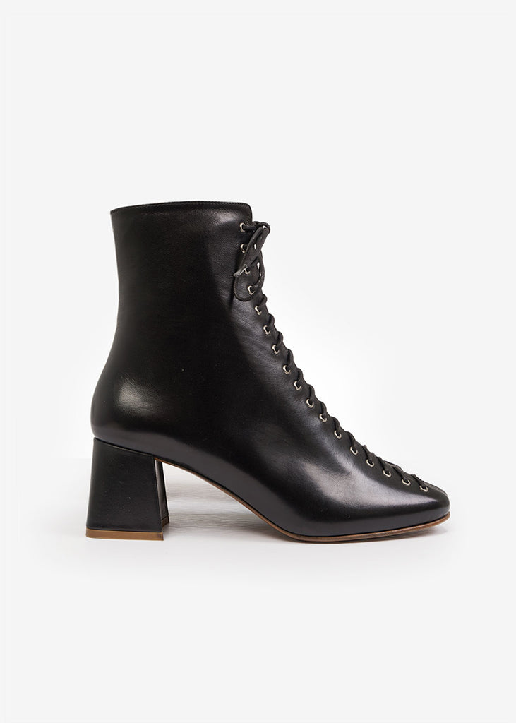 BY FAR Black Becca Boots — New Classics Studios