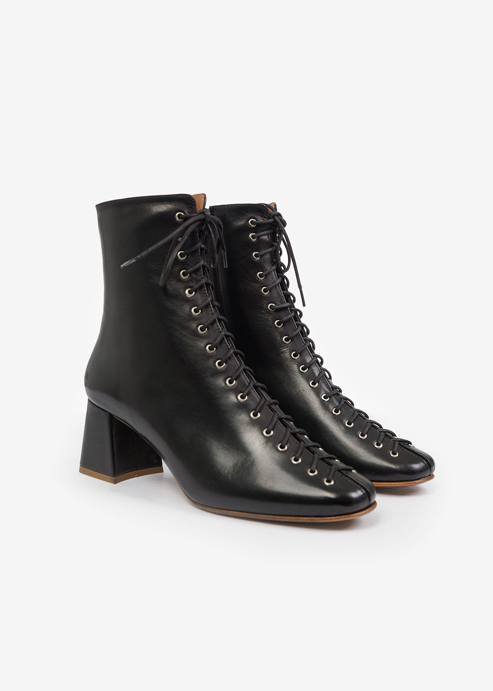 BY FAR Black Becca Boots — Shop sustainable fashion and slow fashion at New Classics Studios