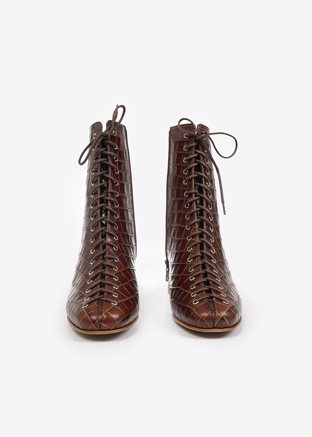 BY FAR Nutella Becca Boots — Shop sustainable fashion and slow fashion at New Classics Studios