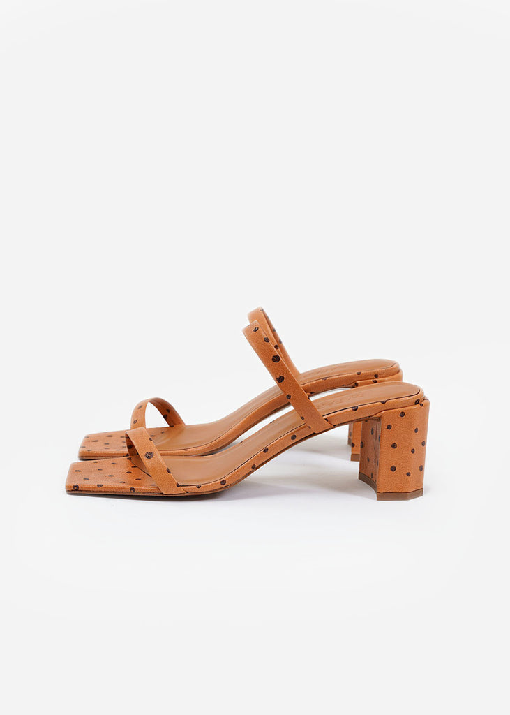 BY FAR Nude Ostritch Tanya Mule — New Classics Studios