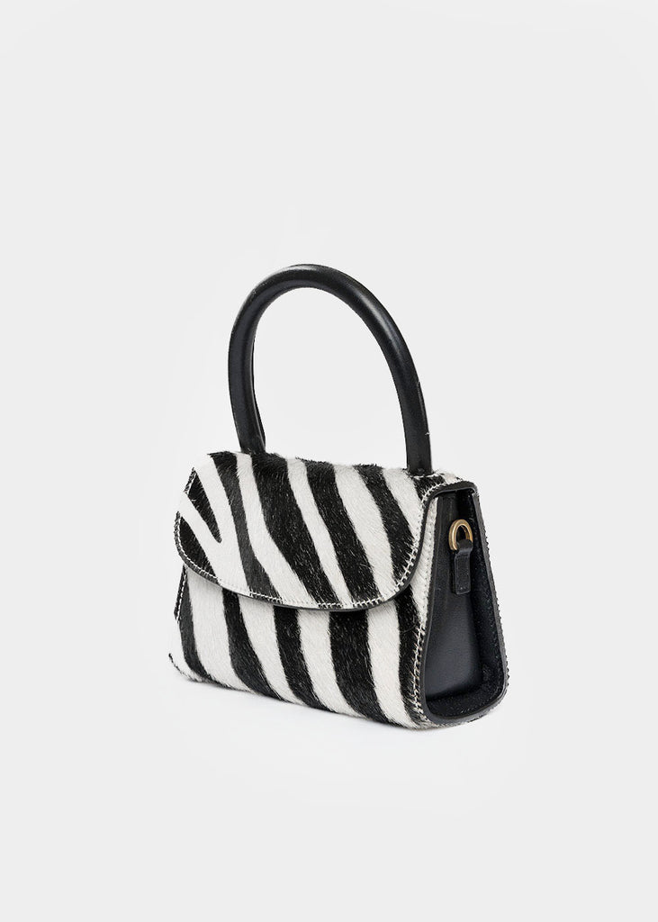 BY FAR Zebra Mini Bag — New Classics Studios