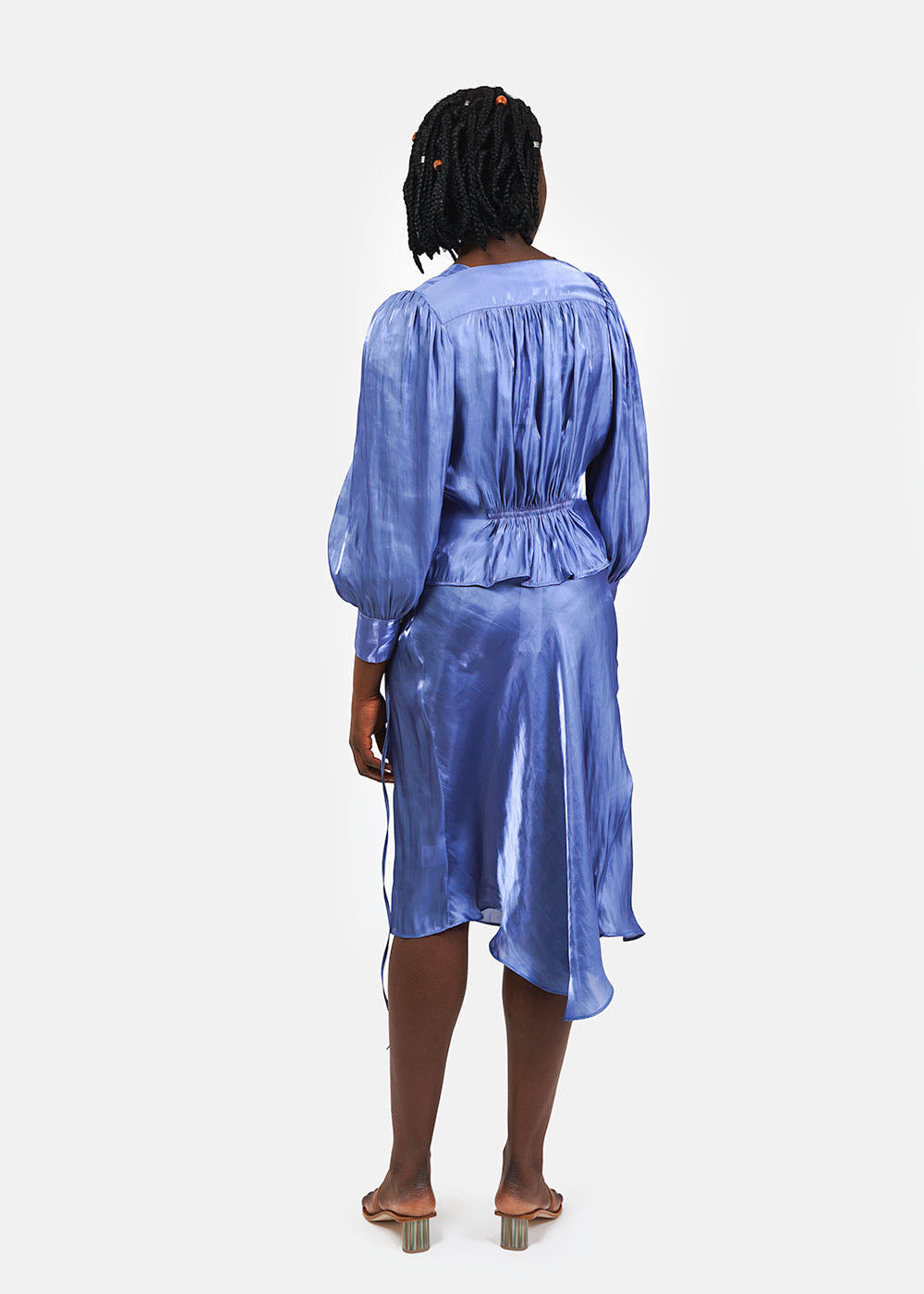 Sea Metallic Allegra Shirt