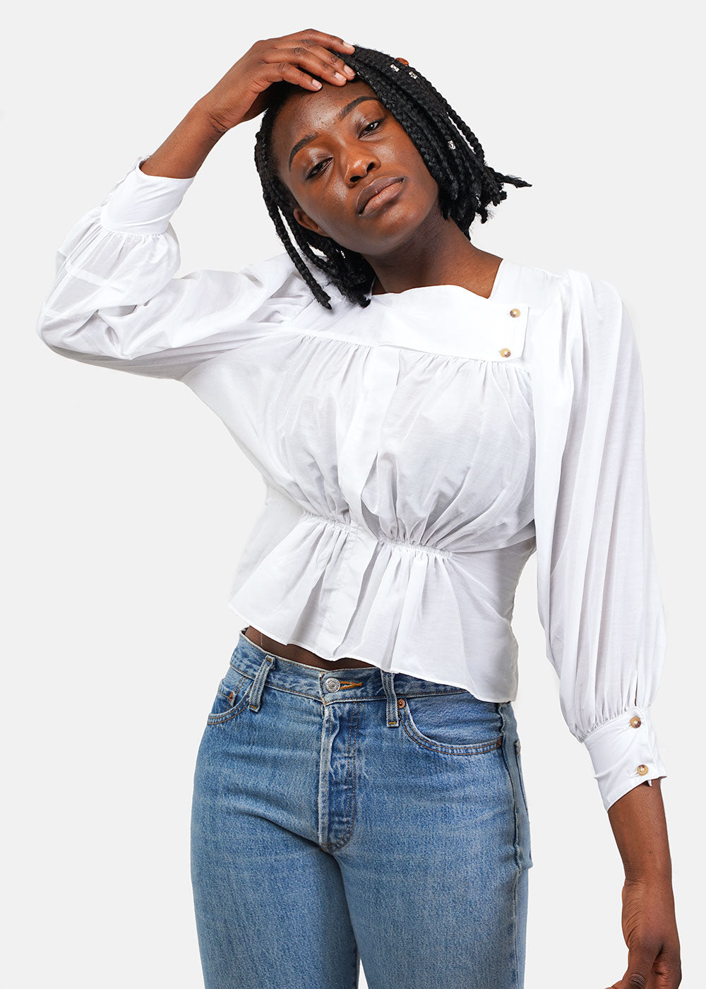 Shell White Allegra Shirt