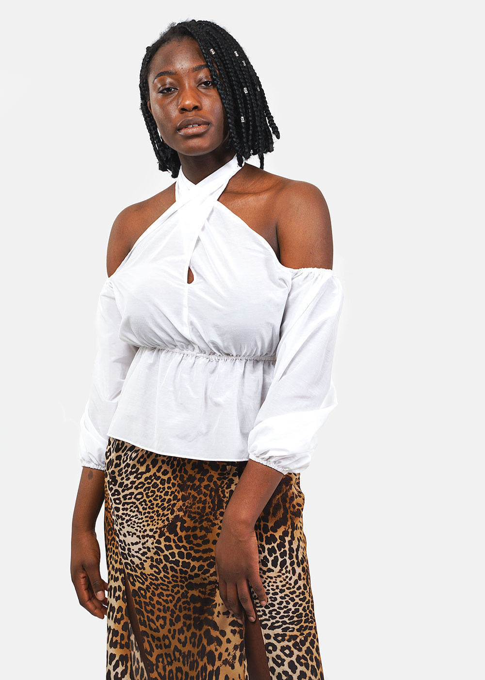 Ciao Lucia Shell White Valentina Top — Shop sustainable fashion and slow fashion at New Classics Studios