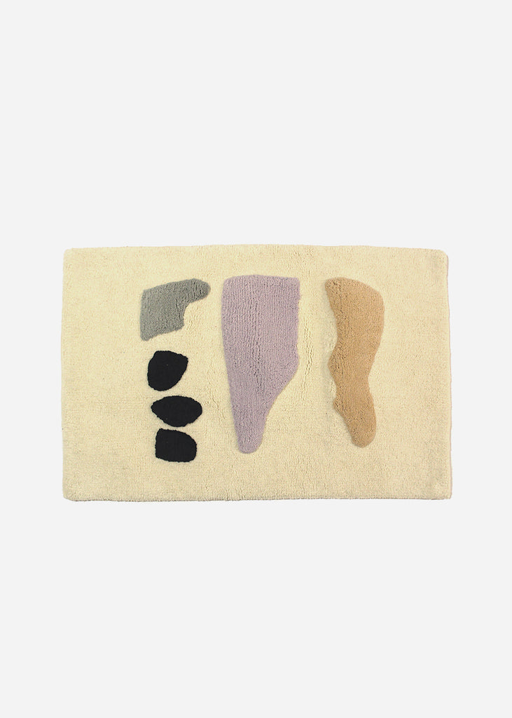 Cold Picnic Talking Rocks Bath Mat — Shop sustainable fashion and slow fashion at New Classics Studios